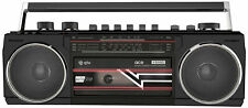 Retro Portable Radio Cassette Player QTX Ace With Bluetooth & MP3 Playback