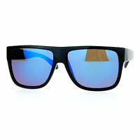 Classic Square Frame Sunglasses Unisex Designer Fashion Color Mirror Lens