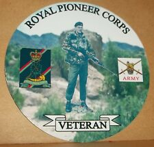 sa80 Princess of Wales/'s Royal Regiment Vinyle Sticker Personalised Free...