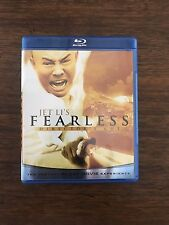 Jet Li's Fearless Director's Cut Blu-Ray Disc Movie