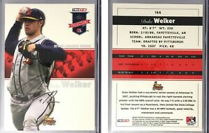 Duke Welker Signed 2008 TRISTAR PROjections Autographs #166 State College Spikes