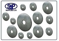 30MM STAINLESS STEEL REPAIR PENNY MUDGUARD WASHER 5MM, 6MM, 8MM, 10MM, 12MM BORE