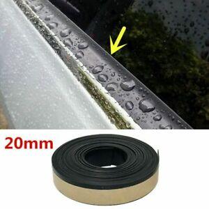 13FT Rubber Car Side Door Window Glass Seal Weatherstrip Rain Visor Universal 1x