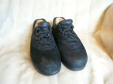"SAS ""Womens Free Time"" Black Leather Suede Shoes Size US 8"