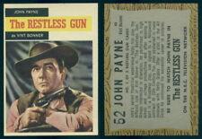 (54641) 1958 Topps TV Westerns 52 The Restless Gun John Payne as Vint Bonner-NM