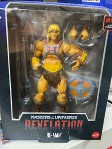 Masters of the Universe Masterverse: Revelation He-Man (DAMAGED BOX)