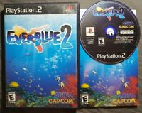 Everblue 2 - Playstation 2 PS2 Game Rare Complete Tested - Capcom