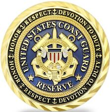 U.S. COAST GUARD RESERVE SECURITY DETACHMENT MILITARY CHALLENGE COIN