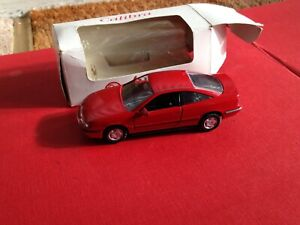 Gama 1139 Vauxhall Calibra Red Dealer Box 1/43 made in germany