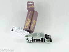 "Cinelli stem Alter threadless 140 1"" grey black Vintage Road track bike New NOS"