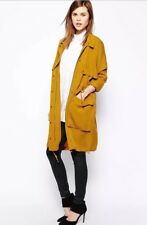 Y.A.S by ASOS Mustard Parka Coat Jacket Size 14/16/18 RRP £150