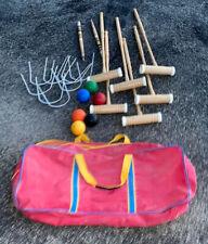 Outdoor Sport Croquet Set - 6 Player Croquet Set- Intermediate