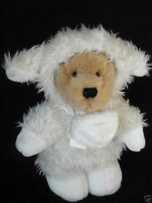 Ganz Teddy Bear Plush 12in in Easter Lamb Costume with Nose 1999 named Curly