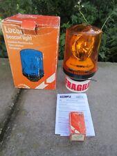 Lucas Original BL6 ámbar intermitente luz de faro giratorio 24V o 12V Nuevo Sin Uso De Colección