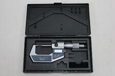 Mitutoyo Digital Outside Pointed Micrometer 0-25mm  , Made in Japan