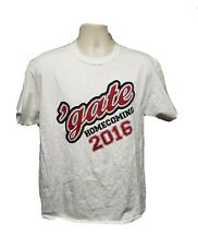 2016 Colgate University Homecoming Adult Large White TShirt