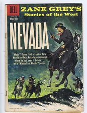 Zane Grey's Nevada F.C. #996 Dell 1959