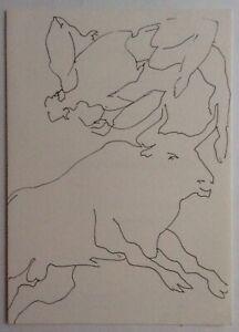 CLAUDE VIALLAT  - Carton d invitation - 1991