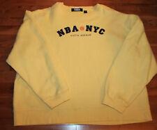 NBA- YELLOW SWEATSHIRT NBA@NYC FIFTH AVENUE