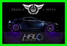 PURPLE LED Wheel Lights Rim Lights Rings by ORACLE (Set of 4) for BMW MODELS 1