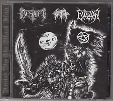 BESATT / EVIL WAR / INFERNAL KINGDOM - united by the black flag CD