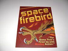 1980 Gremlin Space Firebird Arcade Game Original sales flyer brochure