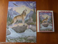 FX SCHMID PUZZLE Night Of The Wolf - 1000 Piece Jigsaw - Complete - VVGC