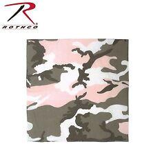 "Rothco 22"" X 22"" Camouflage Military Cotton Biker Camo Army Bandanas"