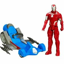 Marvel Assemble Iron Man Figure Battle Racer Vehicle Avengers Vehicle By Hasbro