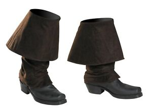 JACK SPARROW BOOT COVERS ADULT PIRATE