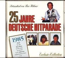 25 Jahre deutsche Hitparade (Uwe Hübner) 1985:Purple Schulz, Klaus Lage B.. [CD]