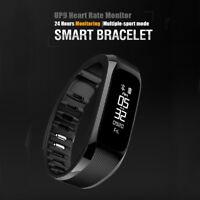 Orologio Smartwatch Cardiofrequenzimetro Fitness Tracker bracelet Android Ios