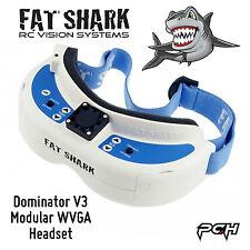Fat Shark Dominator V3 Modular WVGA 720p FPV Goggles Headset FSV1063