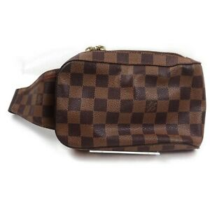 Louis Vuitton Waist Pouch Geronimos Waist Bag N51994 Browns Damier 914446