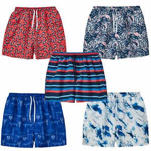 Mens Lightweight Trunks Pockets Quick Dry Swim Wear Shorts Surf Board Plus Size