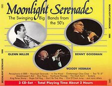 MOONLIGHT SERENADE : BENNY GOODMAN, WOODY HERMAN, GLENN MILLER / 3 CD-SET