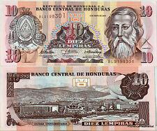 Honduras billet NEUF Dde 10 LEMPIRAS CABANAS  Pick 92 2010  UNC