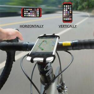 Silicone Bicycle Bike Motorcycle Handlebar Cradle Mount Holder Phone Secure