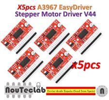 5pcs A3967 EasyDriver Stepper Motor Driver V44 Development Board 3D Printer