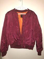 Womens bomber jacket Size Large