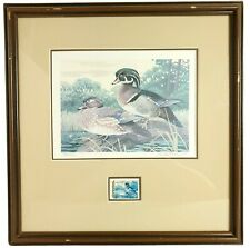 Lee LeBlanc 1981 SC Migratory Waterfowl Hunting Duck Stamp and Print 732/4500