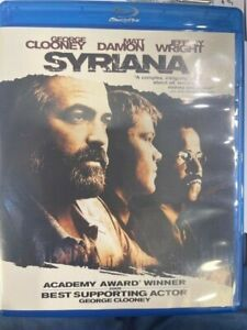 Syriana blu ray region B viewed once