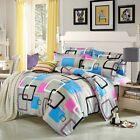 FitOZ Square Single Double Queen King Size Bed Set Pillowcase Quilt Duvet Cover
