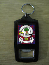 HAMILTON CLAN BOTTLE OPENER KEY RING (IMAGE DISTORTED TO PREVENT WEB THEFT)
