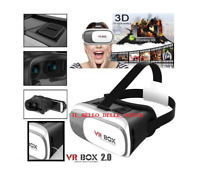 VR BOX OCCHIALI REALTA' VIRTUALE 3D PER SMARTPHONE GIOCHI VIDEO FILM 360°