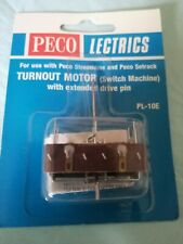 Turnout motor PL 10E SWITCH MACHINE with extended drive pin peco lectrics train