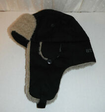 STETSON trapper HAT size small / medium BLACK berber lined NEW