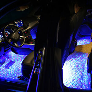 USB Car Accessories Interior Atmosphere Star Sky Lamp Ambient Night Light Kits
