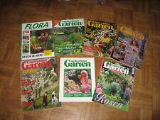 7 Gartenzeitschriften ab Monat März versch. Themen Mein Schöner Garten Spezial