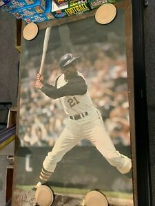 1968 SPORTS ILLUSTRATED ROBERTO CLEMENTE 24X36 VINTAGE POSTER EX/MT NICE EMMONS
